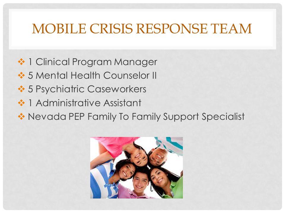 Mobile crisis response team