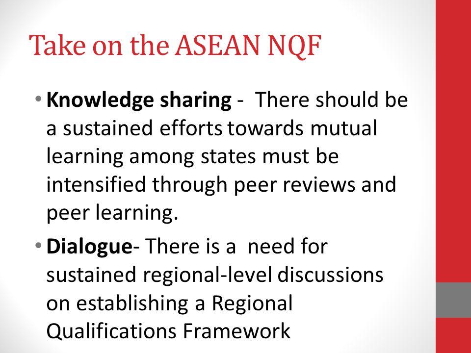 Take on the ASEAN NQF