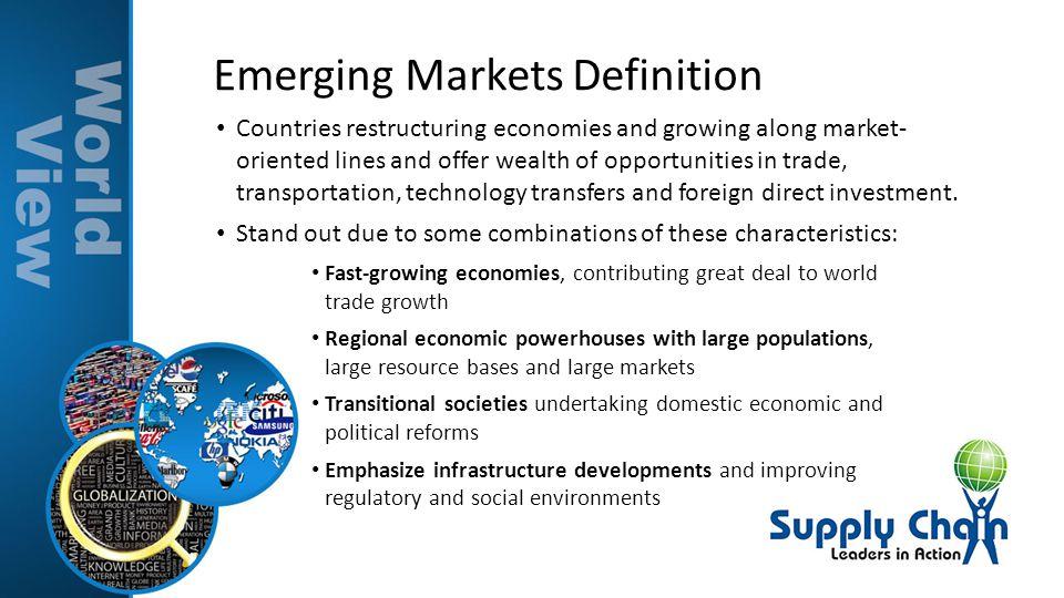 Emerging Markets Definition