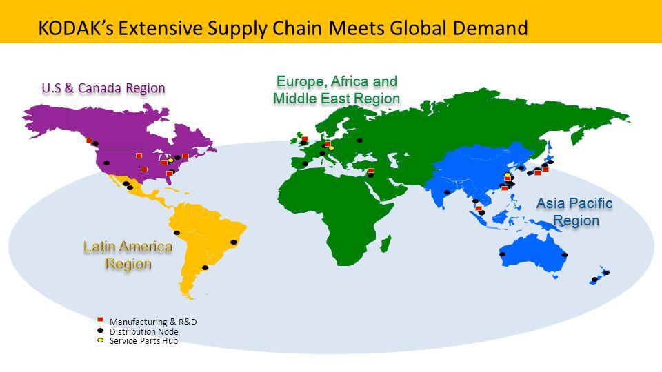 KODAK's Extensive Supply Chain Meets Global Demand
