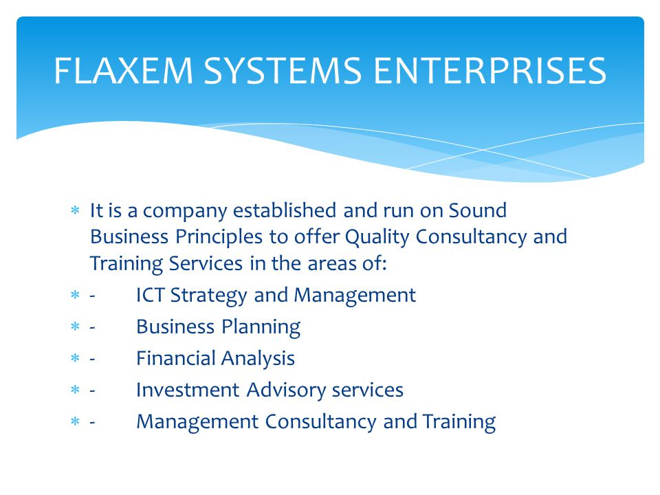 FLAXEM SYSTEMS ENTERPRISES