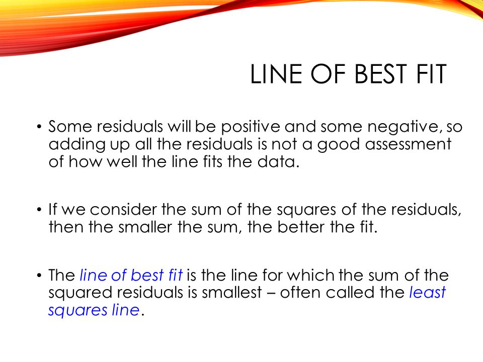 QTM1310/ Sharpe Line of best fit.