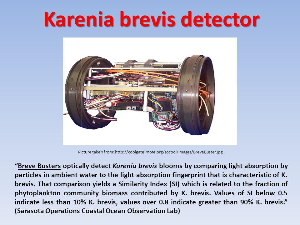 Karenia brevis detector