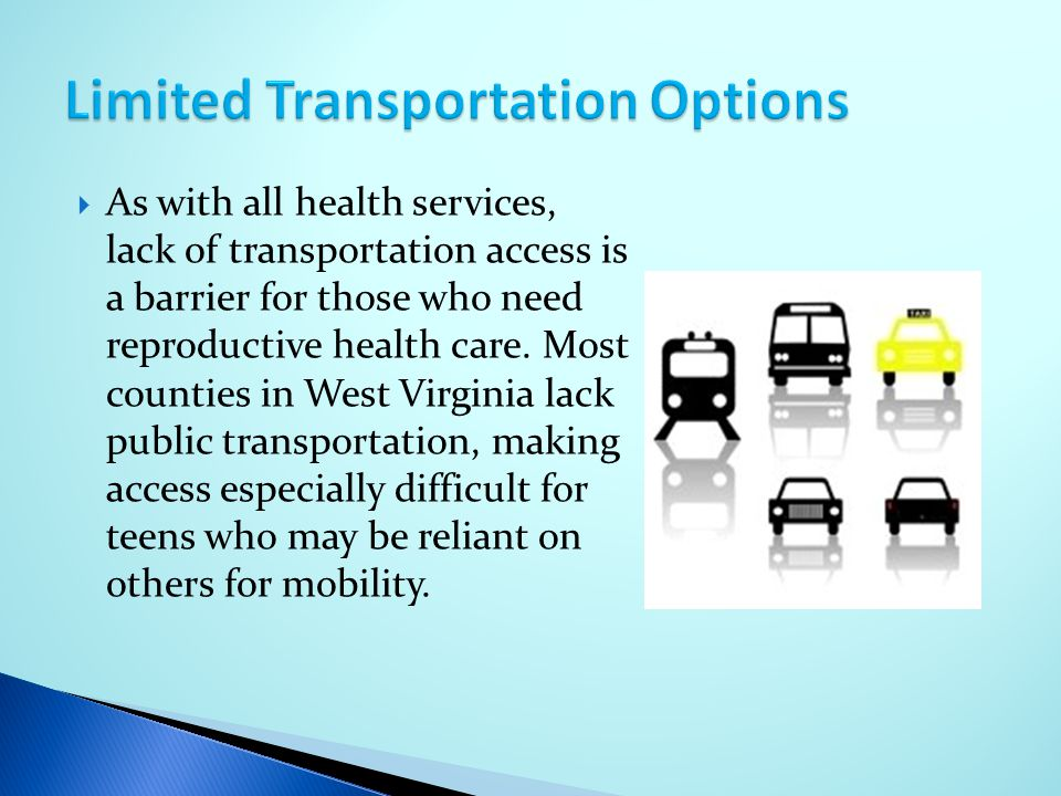 Limited Transportation Options