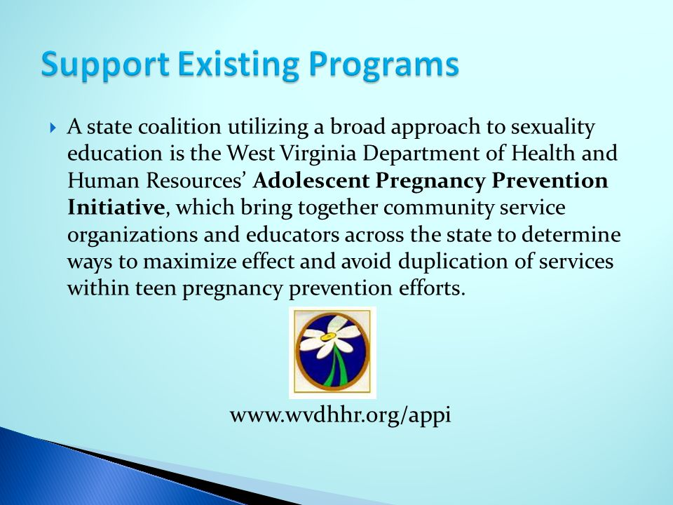 Support Existing Programs