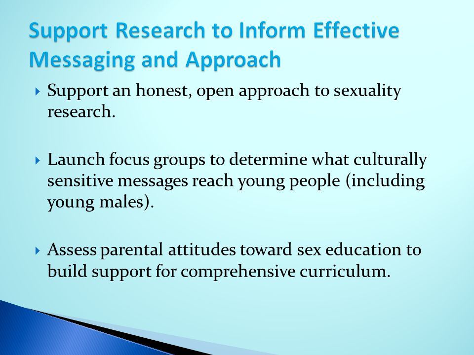 Support Research to Inform Effective Messaging and Approach