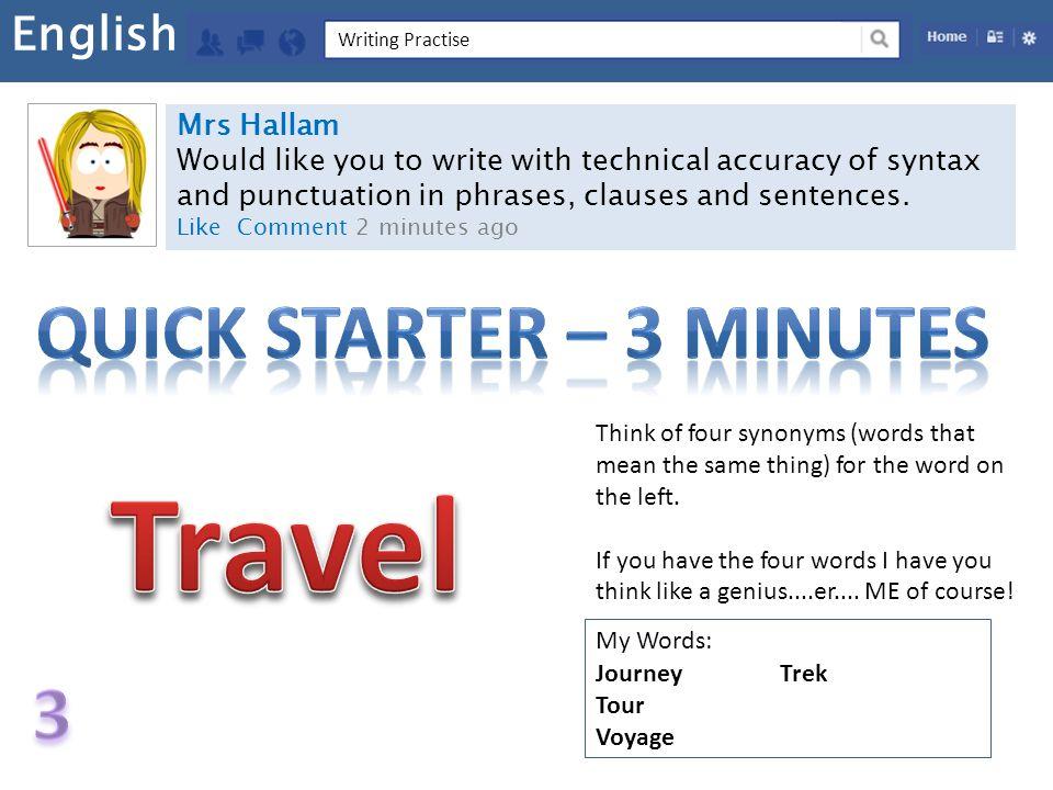 Quick Starter – 3 MINUTES