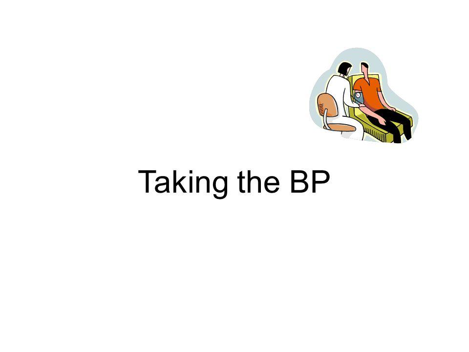 Taking the BP