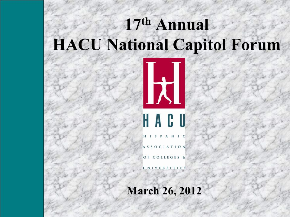 17th Annual HACU National Capitol Forum