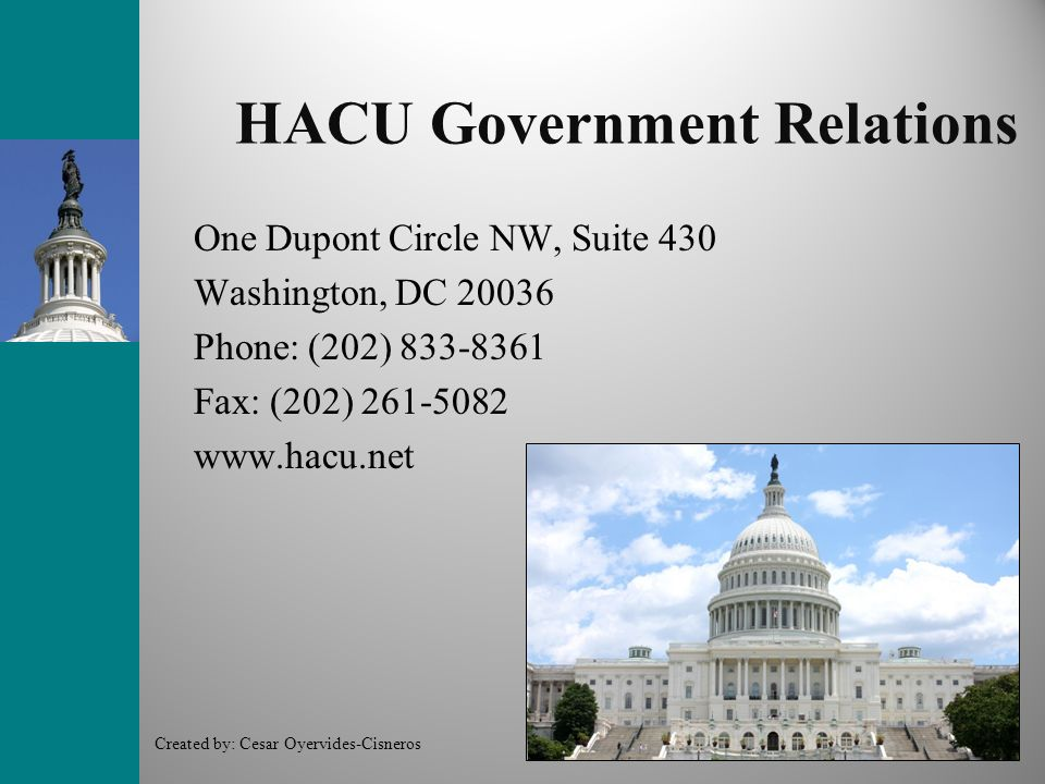 HACU Government Relations