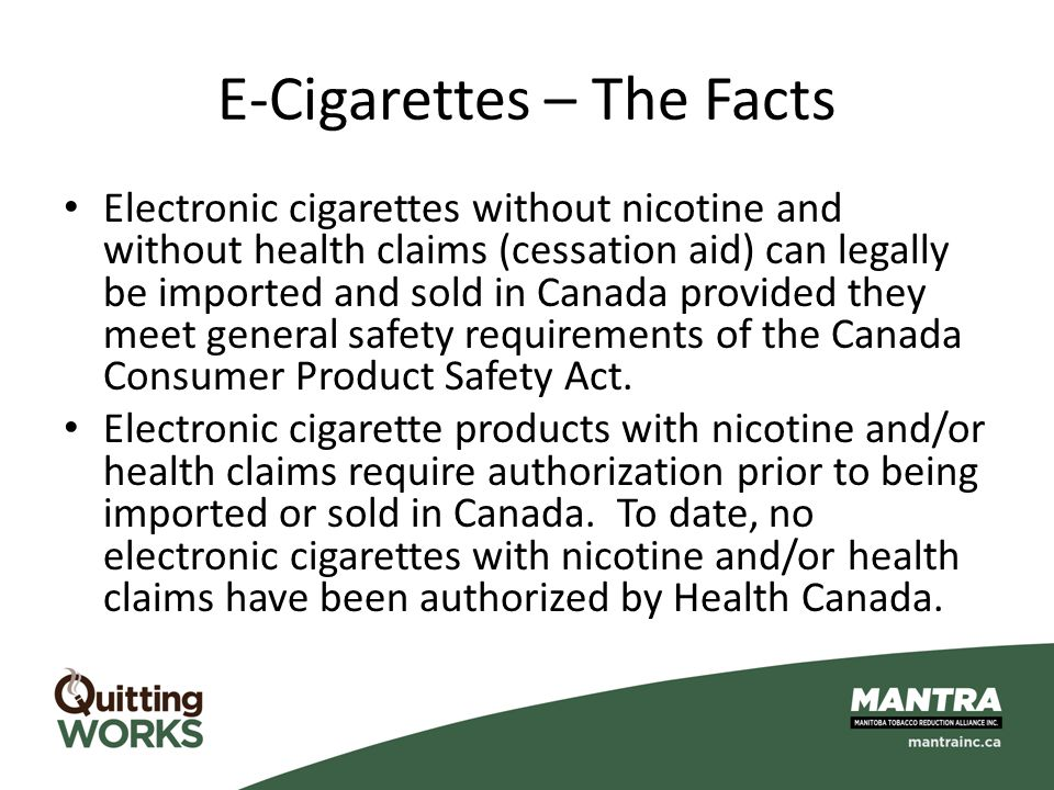 Electronic cigarette marketing strategy
