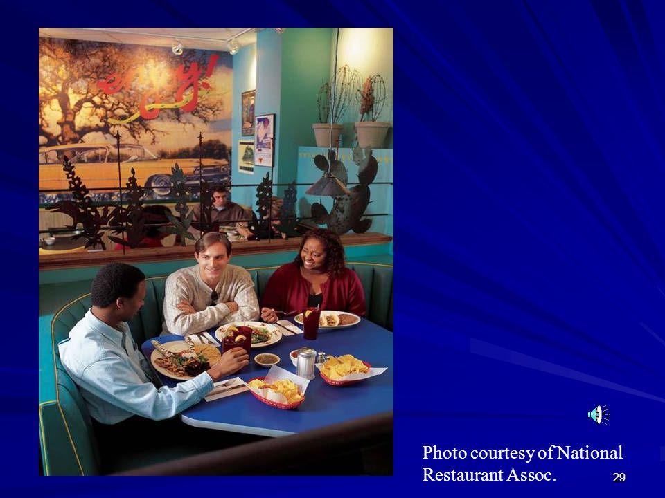 Photo courtesy of National Restaurant Assoc.