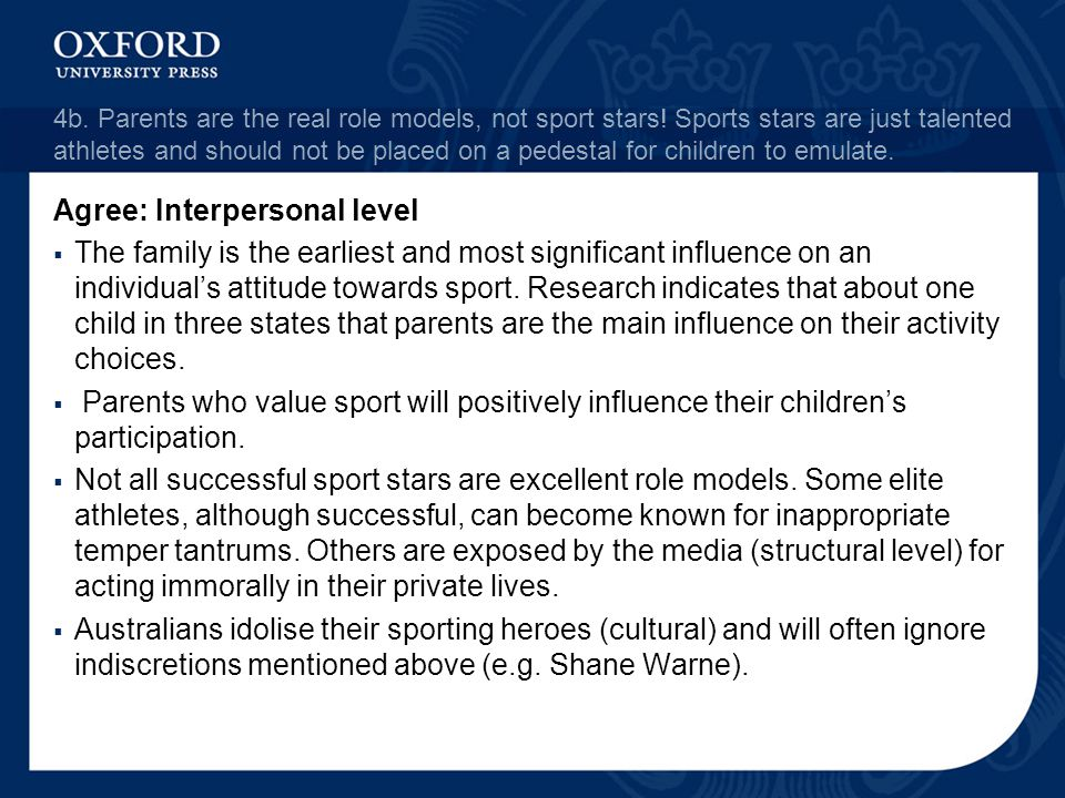 Agree: Interpersonal level