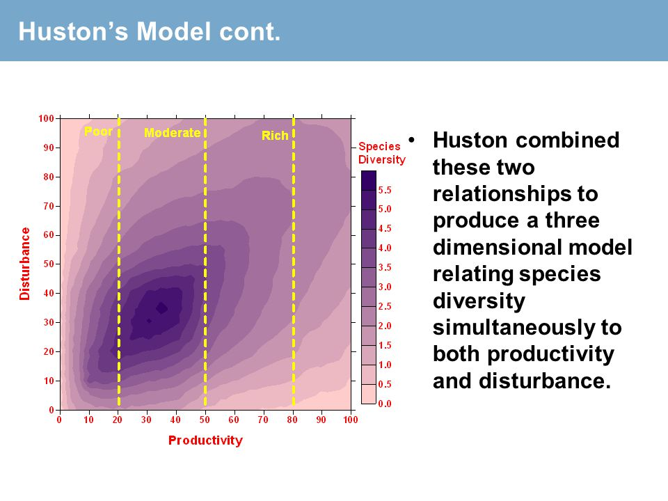 Huston's Model cont.