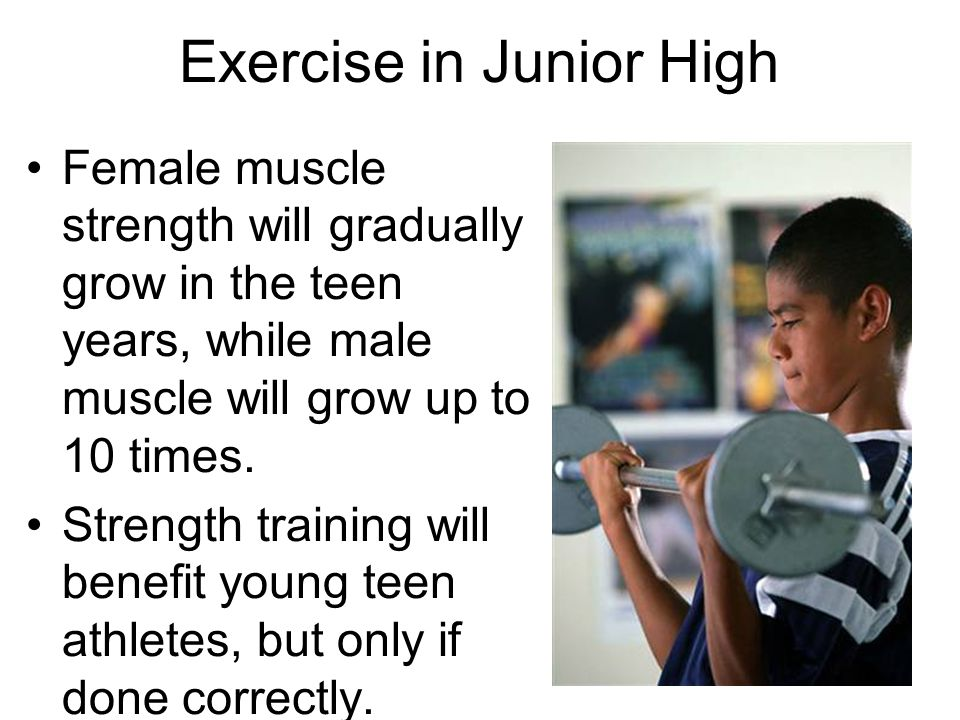 Exercise in Junior High