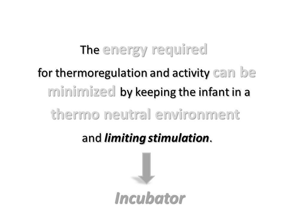 thermo neutral environment