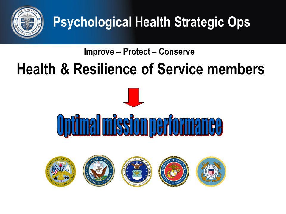 Psychological Health Strategic Ops