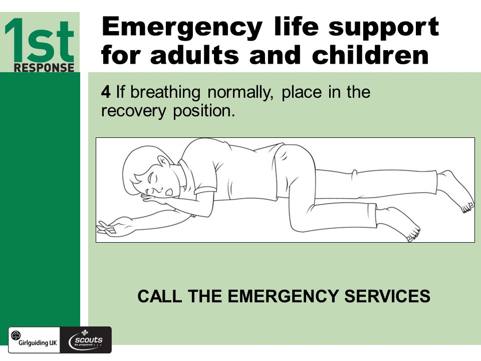 Emergency life support for adults and children