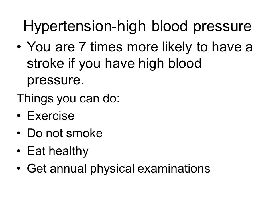 Hypertension-high blood pressure