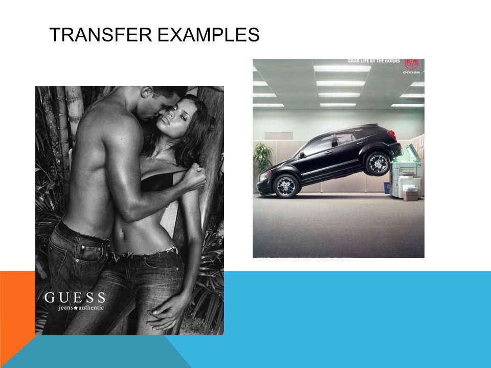 Transfer Examples