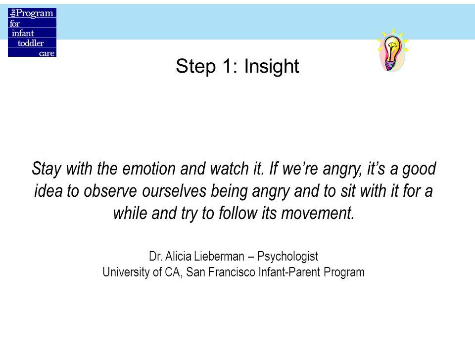 Step 1: Insight