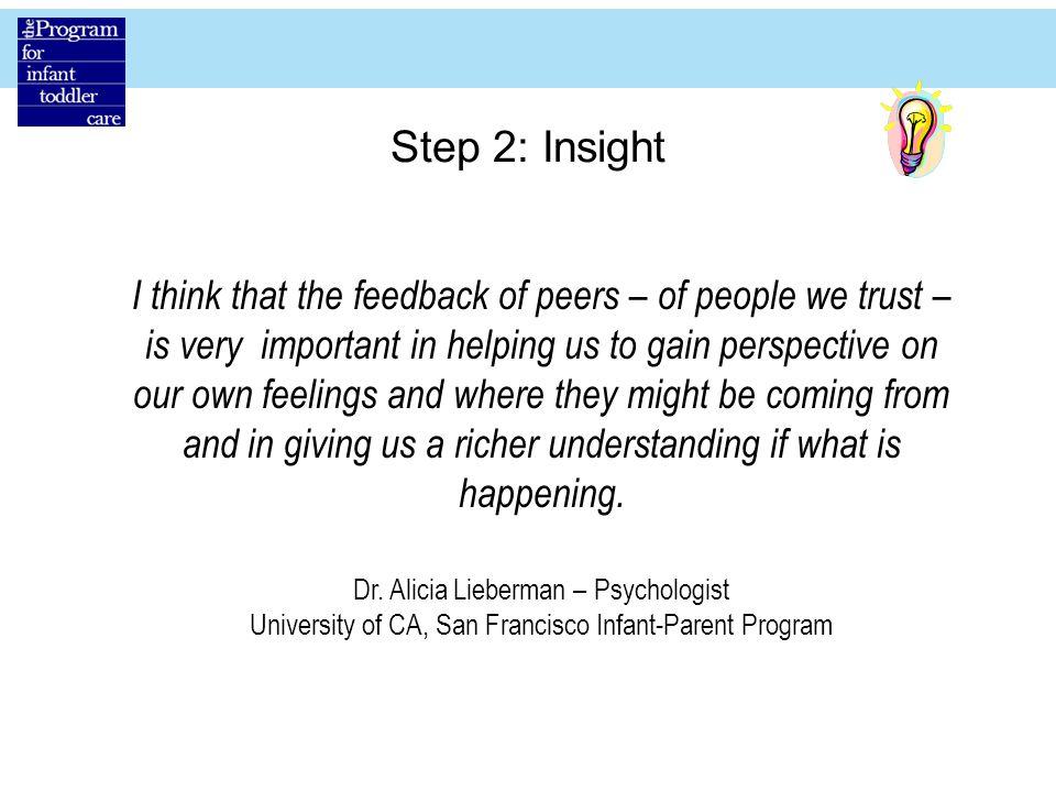 Step 2: Insight