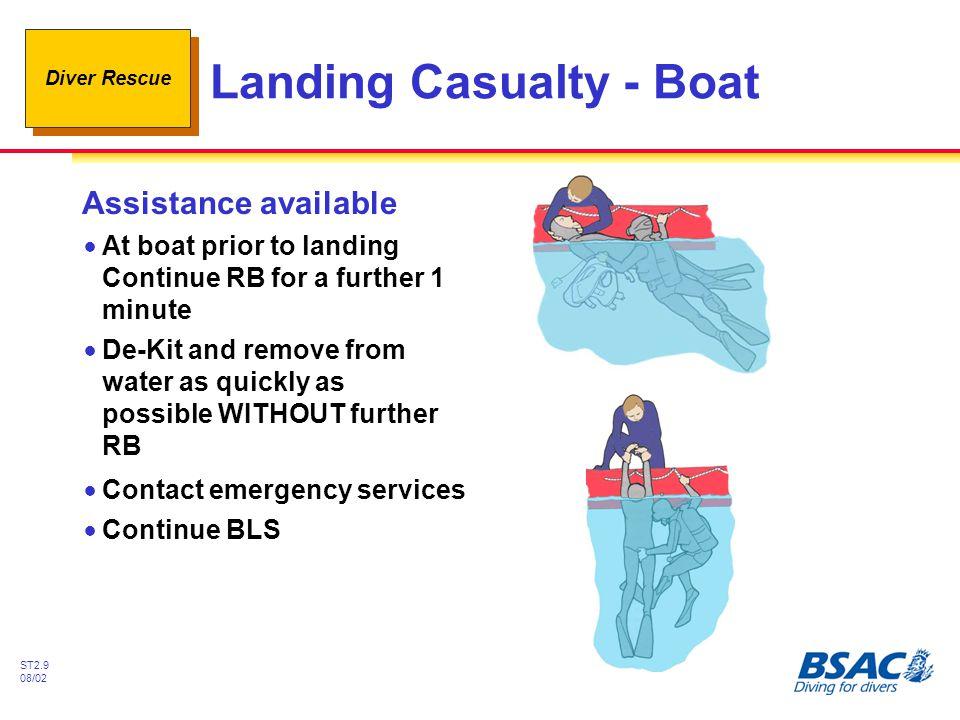 Landing Casualty - Boat