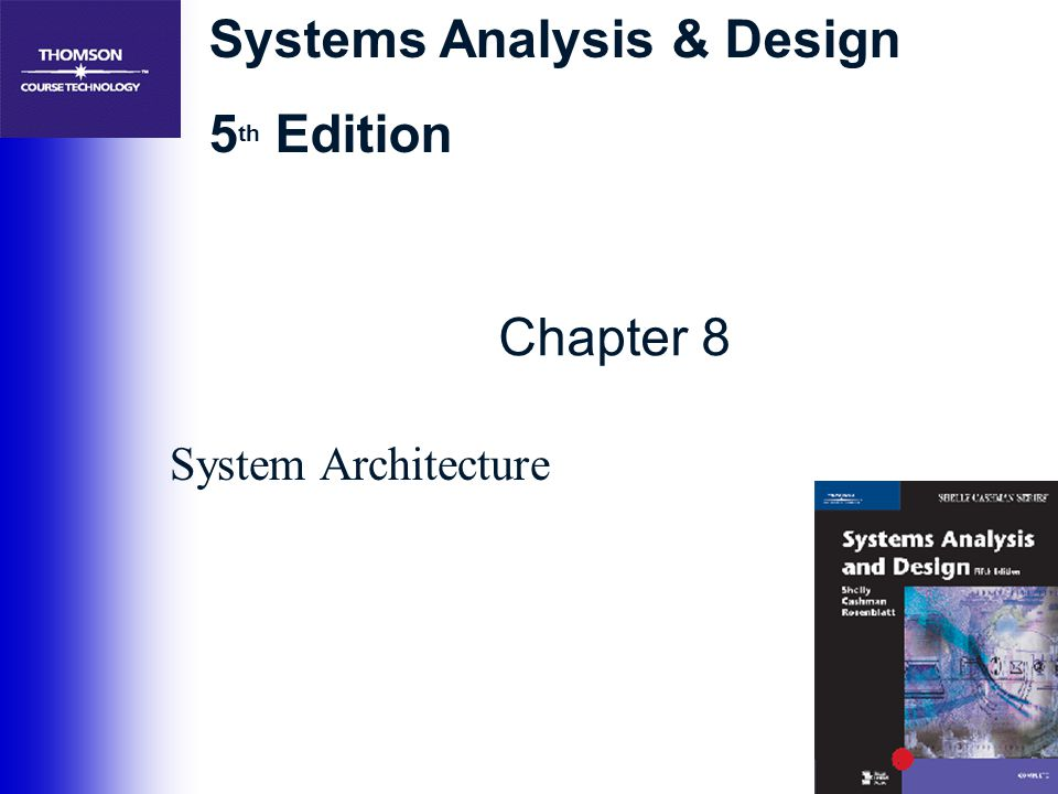 Chapter 8 System Architecture