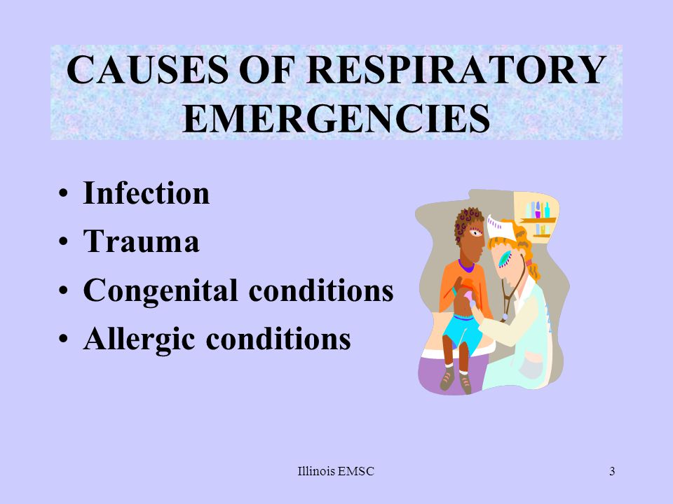 CAUSES OF RESPIRATORY EMERGENCIES