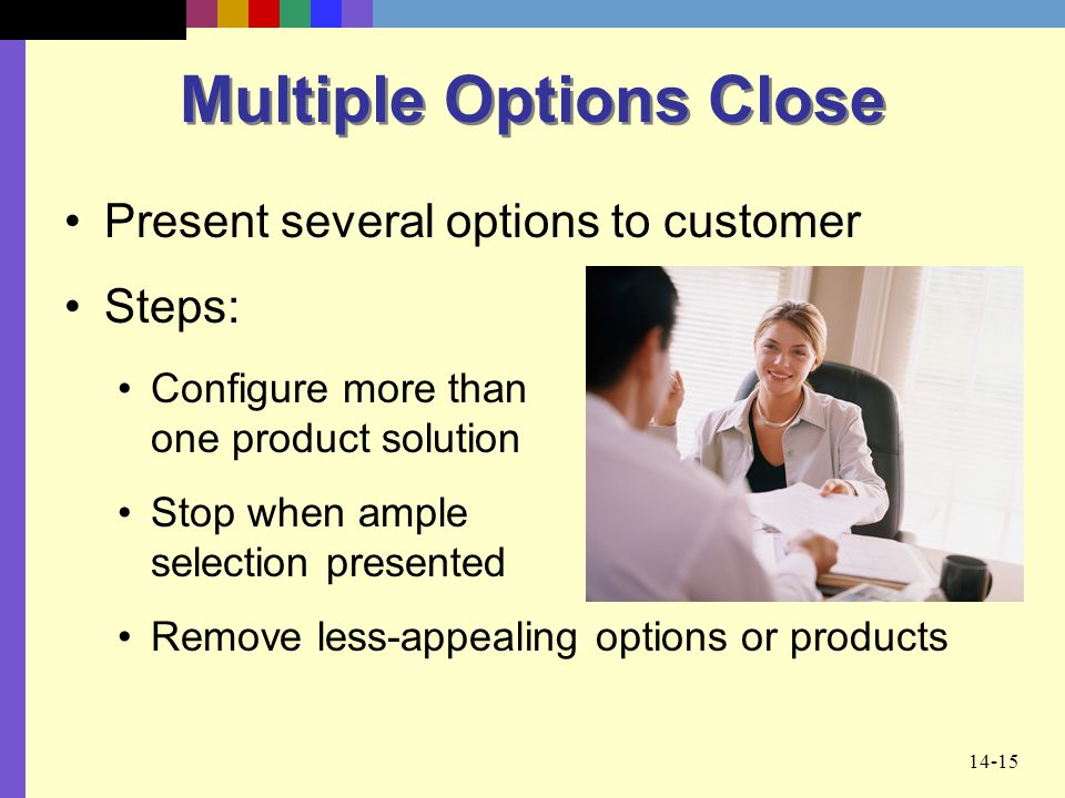 Multiple Options Close