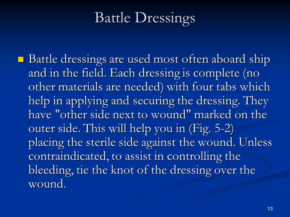 Battle Dressings