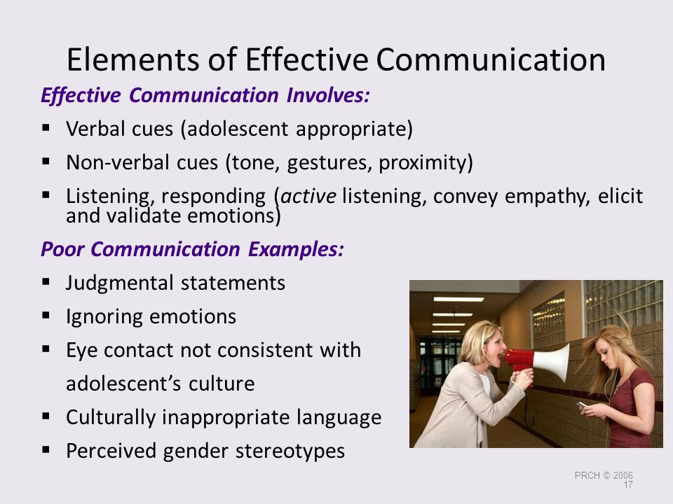 Elements of Effective Communication