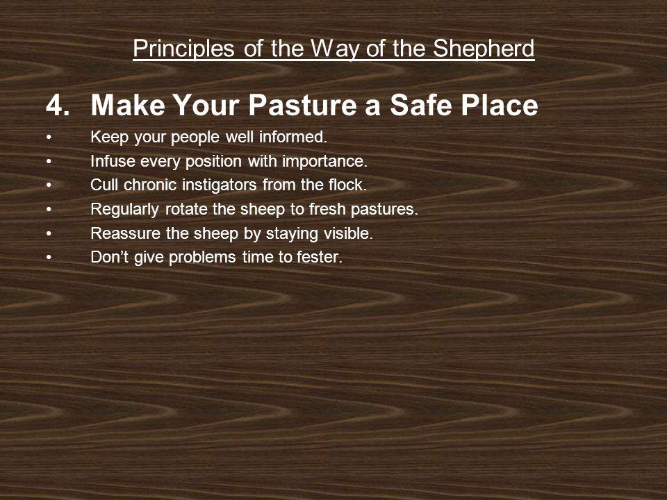 Principles of the Way of the Shepherd