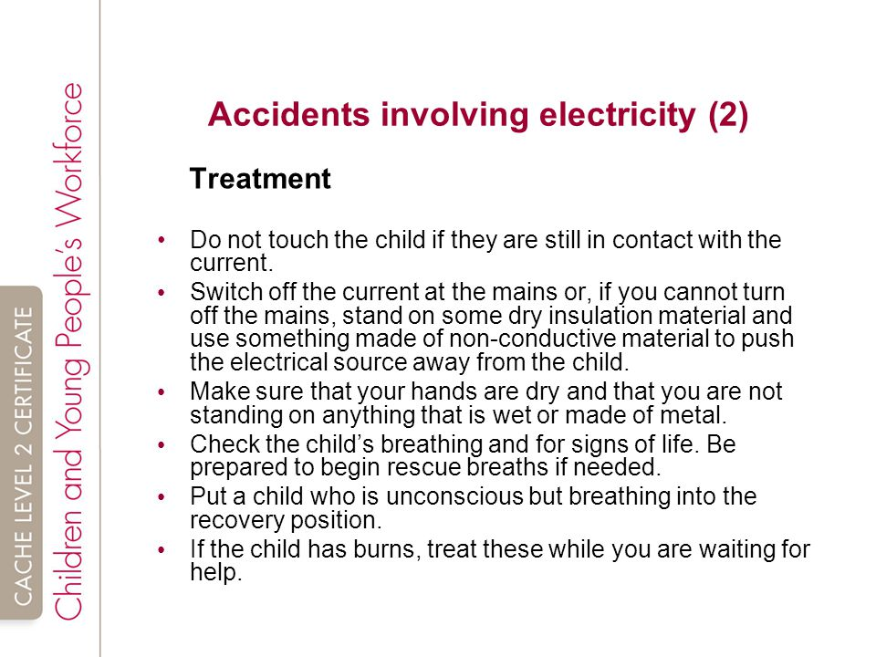 Accidents involving electricity (2)