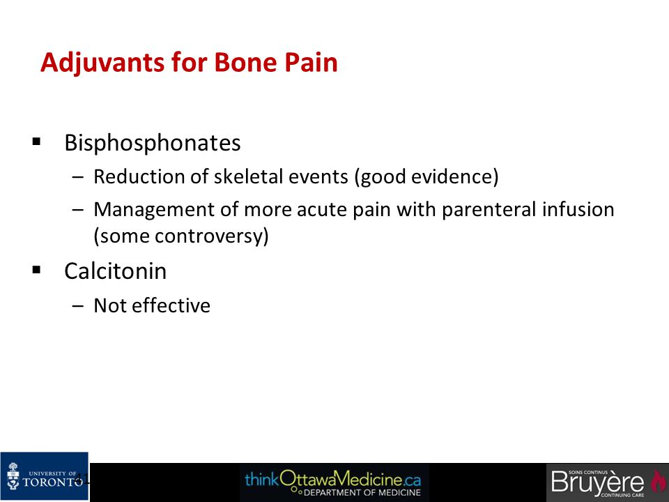 Adjuvants for Bone Pain