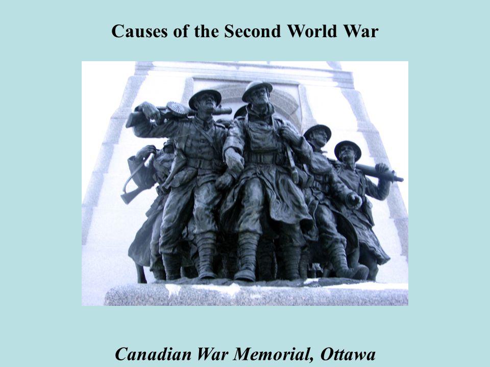 Causes of the Second World War Canadian War Memorial, Ottawa