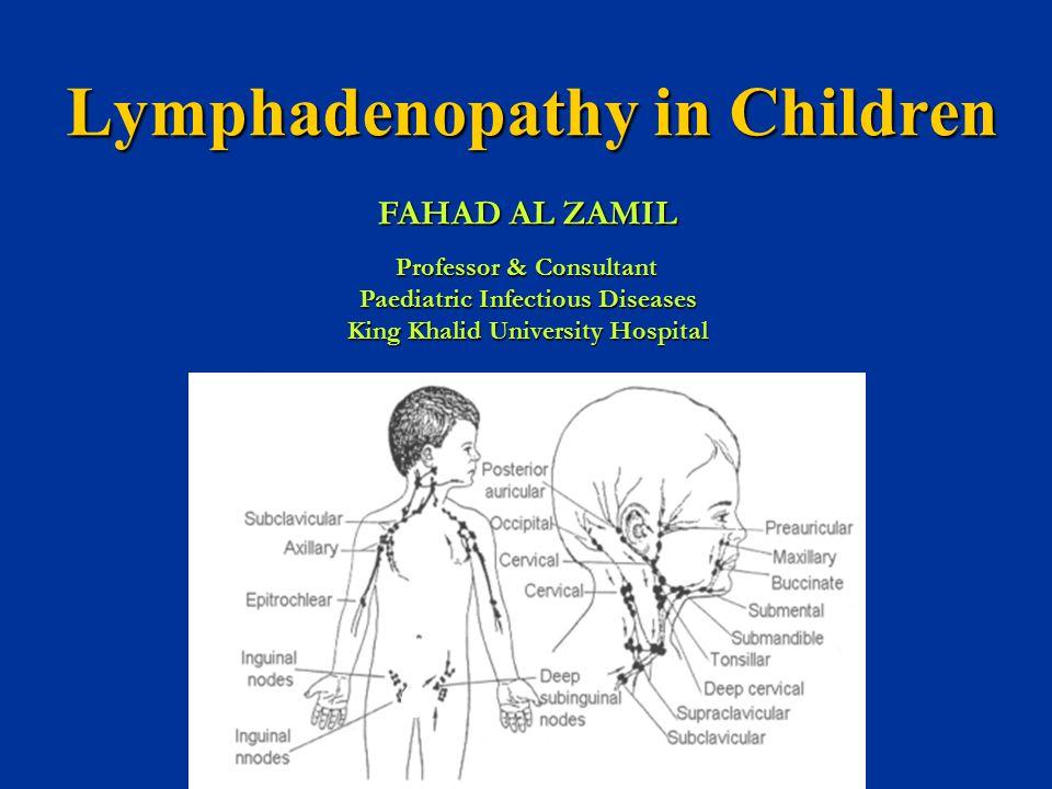 Lymphadenopathy In Children Ppt Video Online Download
