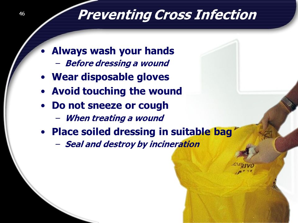 Preventing Cross Infection