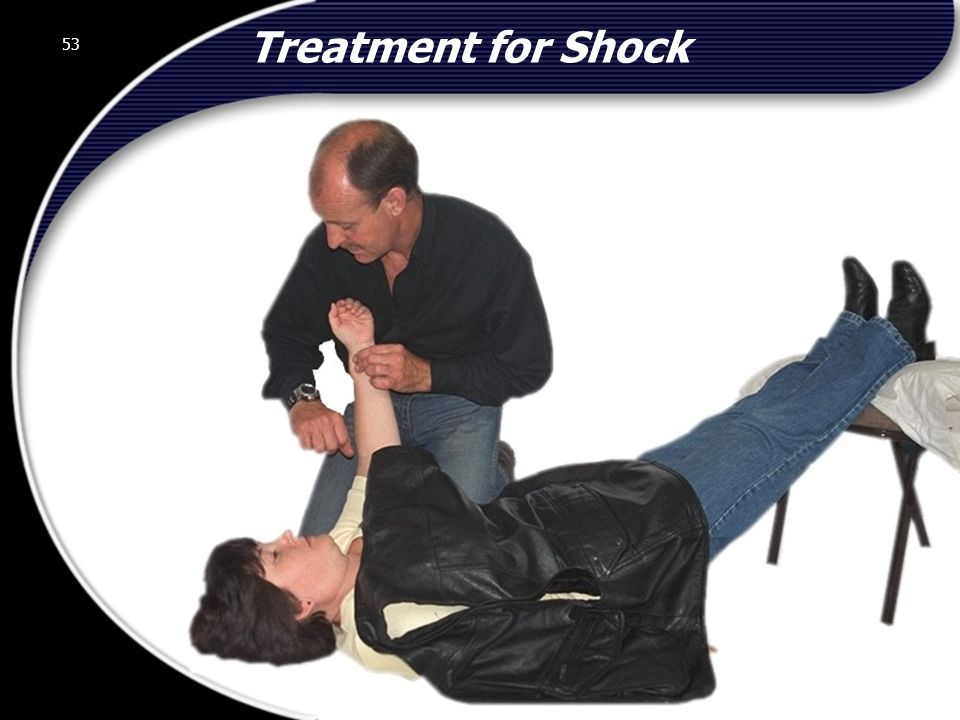 Treatment for Shock 53 © 2002 Abertay Nationwide Training