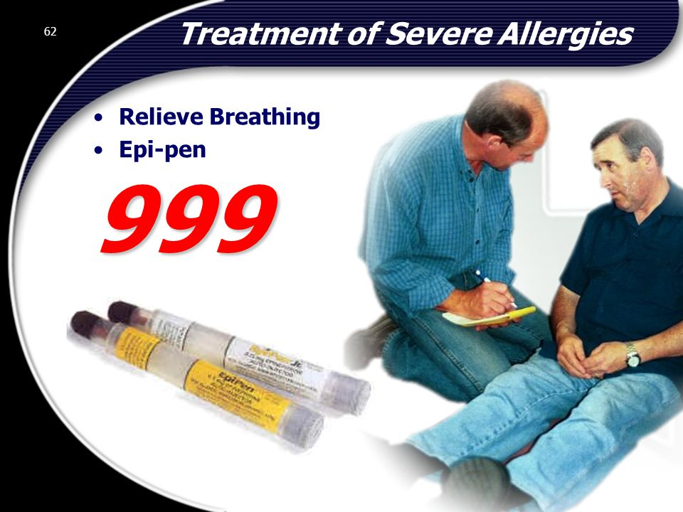 Treatment of Severe Allergies