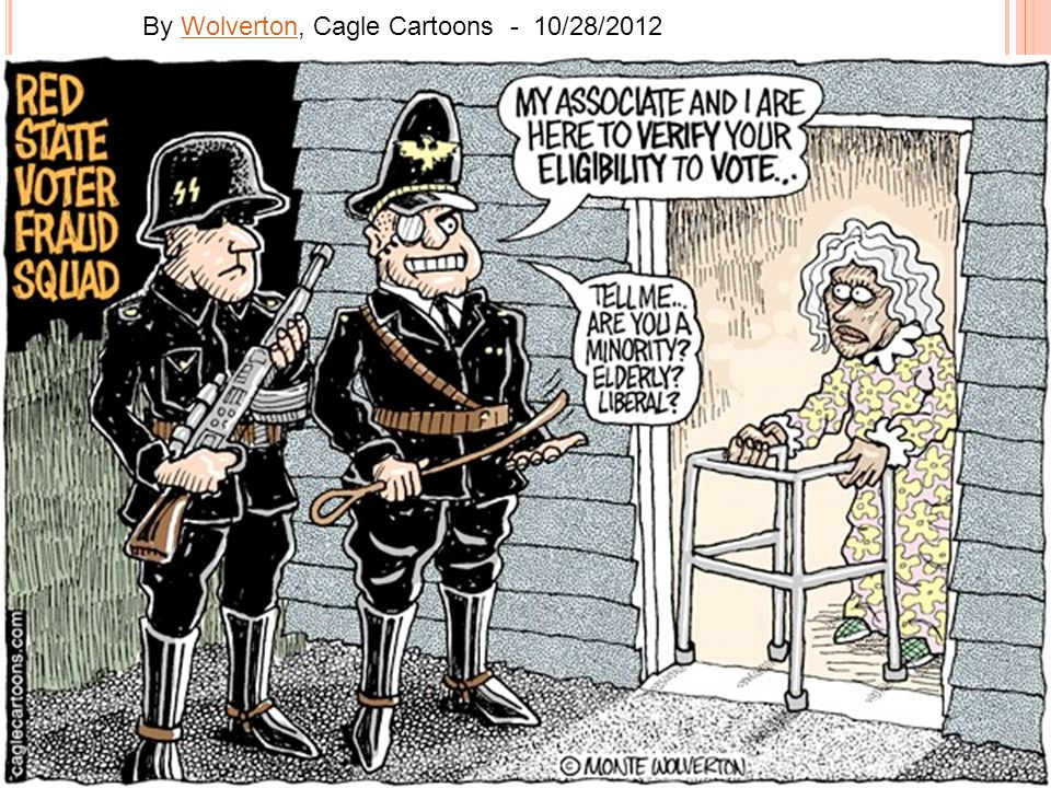 By Wolverton, Cagle Cartoons - 10/28/2012