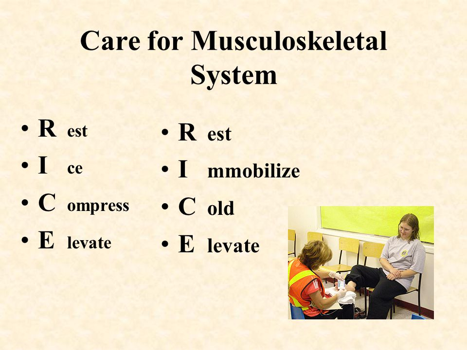 Care for Musculoskeletal System