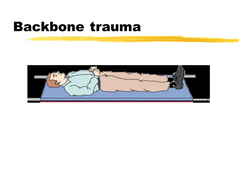 Backbone trauma
