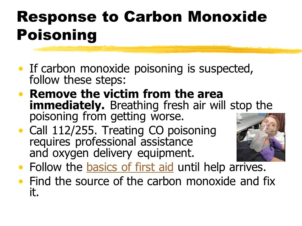 how to detect carbon monoxide poisoning symptoms