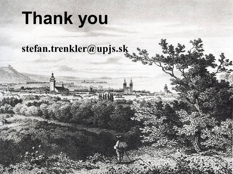 Thank you stefan.trenkler@upjs.sk