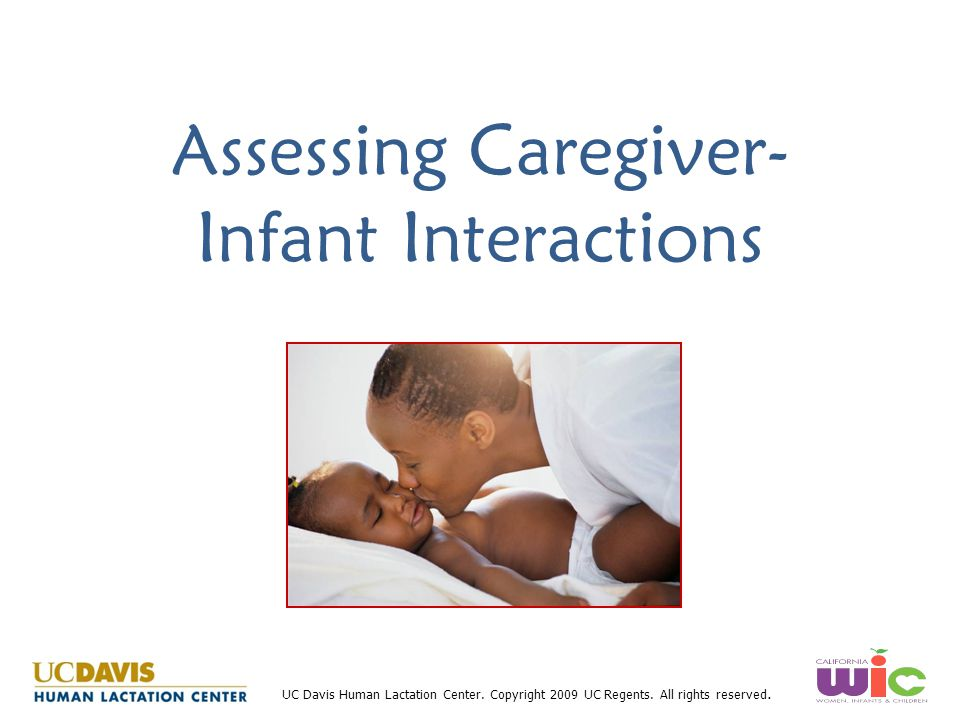 Assessing Caregiver-Infant Interactions