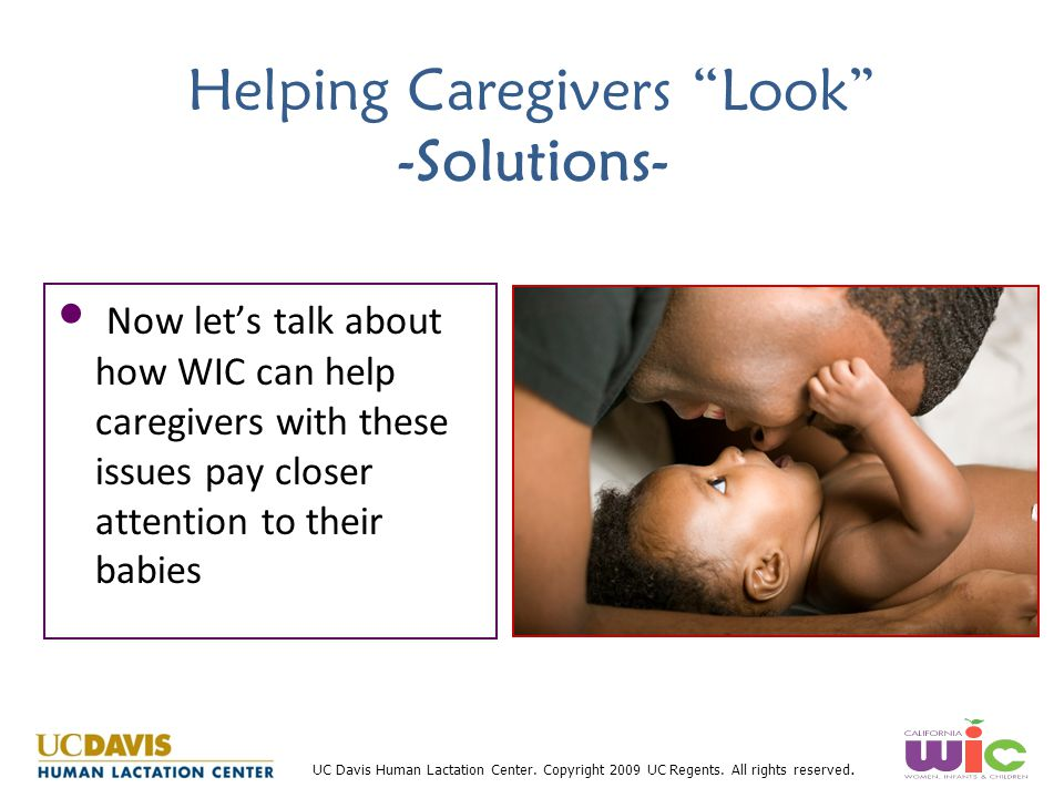 Helping Caregivers Look -Solutions-