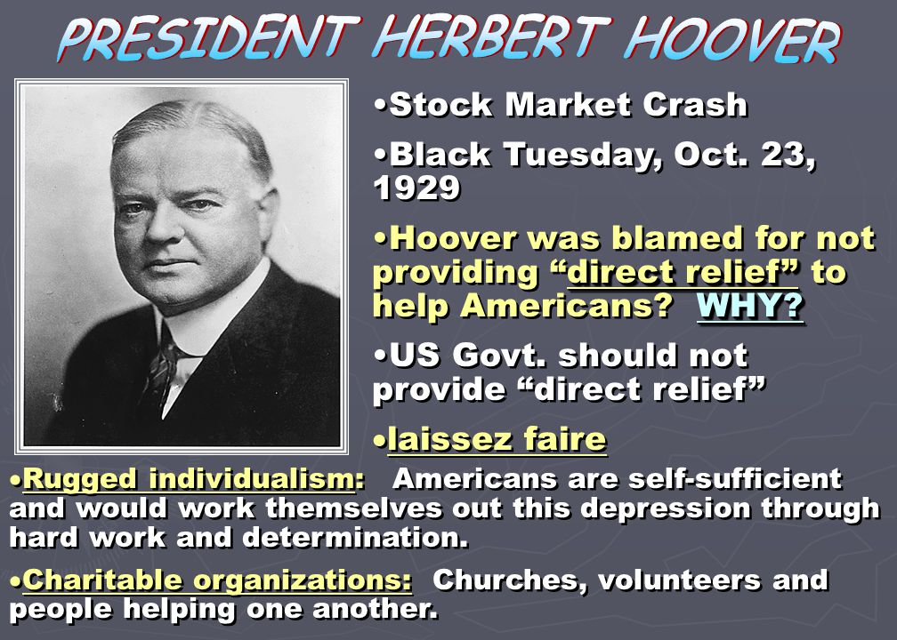 "reaction to herbert hoover quote Top 10 ways barack obama is just like herbert hoover 5  to compare the reaction to the  roosevelt delivering his famous quote ""the only thing we have."
