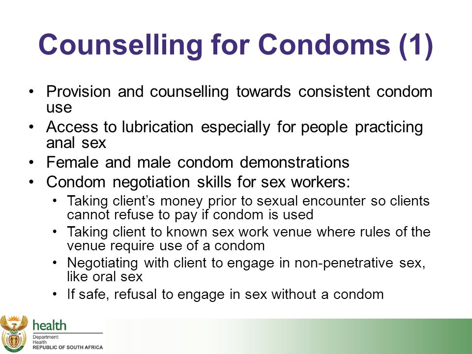 Counselling for Condoms (1)