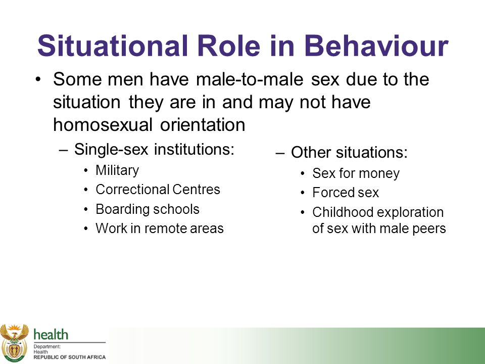 Situational Role in Behaviour